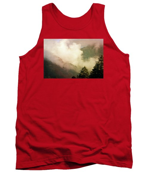 Fog Competes With Sun Tank Top by AugenWerk Susann Serfezi