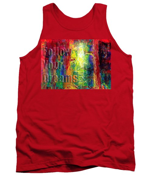 Follow Your Dreams Embossed Tank Top