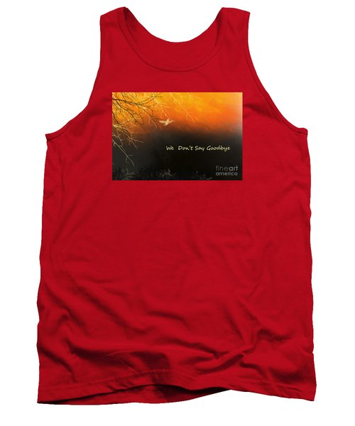 Tank Top featuring the digital art Fond Thoughts by Trilby Cole