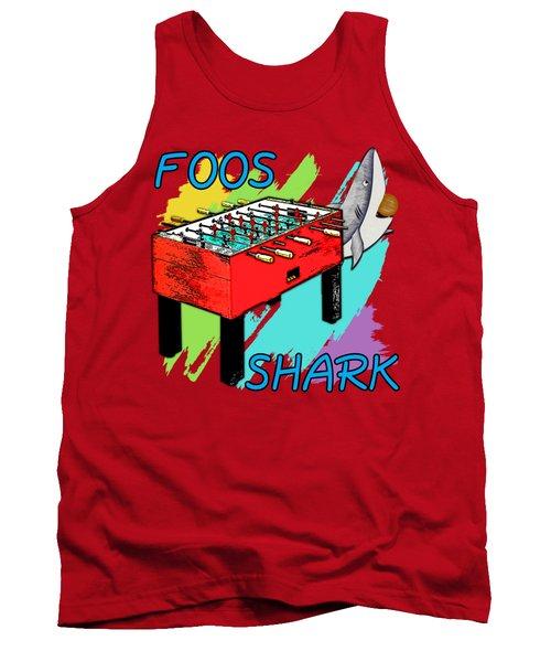 Foos Shark Tank Top by David G Paul