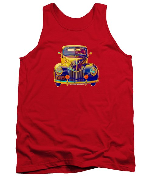 Ford Deluxe Coupe Transfer Tank Top