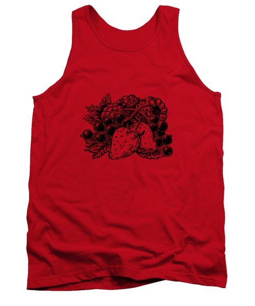 Forest Berries Tank Top