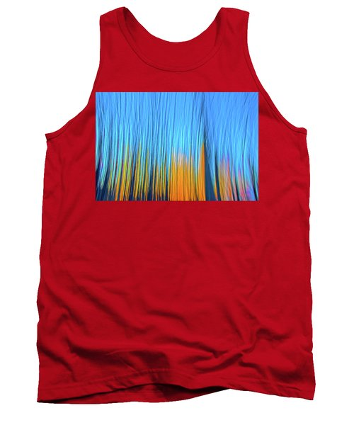 Tank Top featuring the photograph Forest Fire by Tony Beck