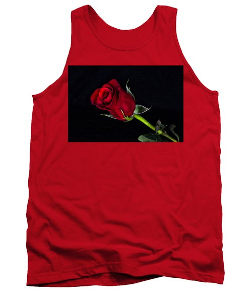 Forever Lasting Rose  Tank Top by Betty Pauwels