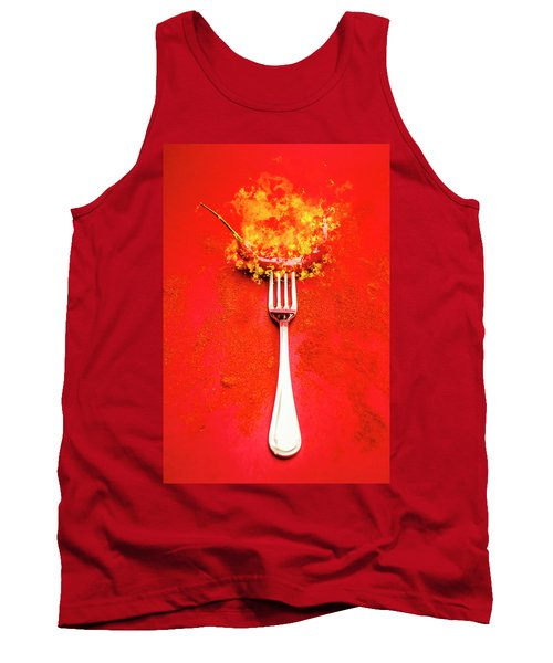 Forking Hot Food Tank Top