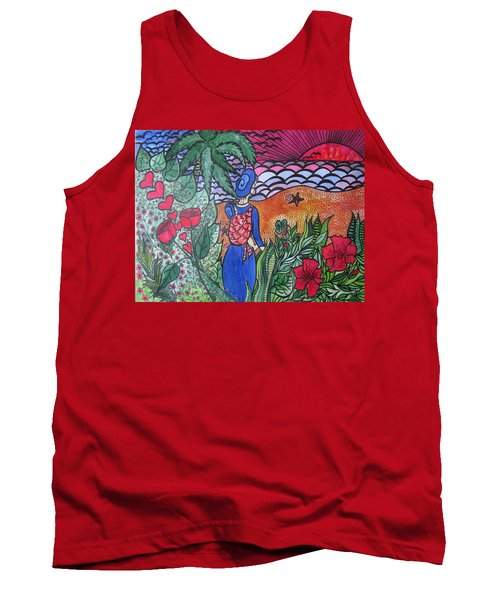 Fortune ....happiness Tank Top