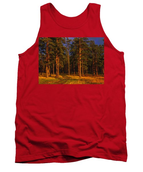 Tank Top featuring the photograph Forest After Rain Storm by Vladimir Kholostykh