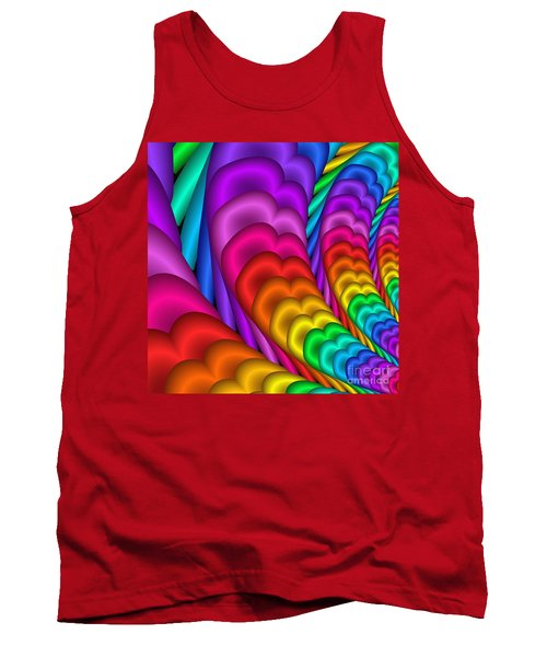 Fractalized Colors -10- Tank Top