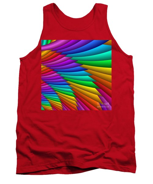 Fractalized Colors -8- Tank Top