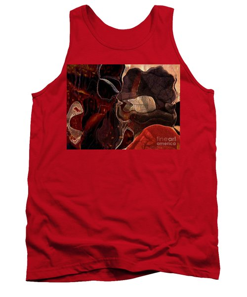 Fragments Of Memory Tank Top by Kathie Chicoine