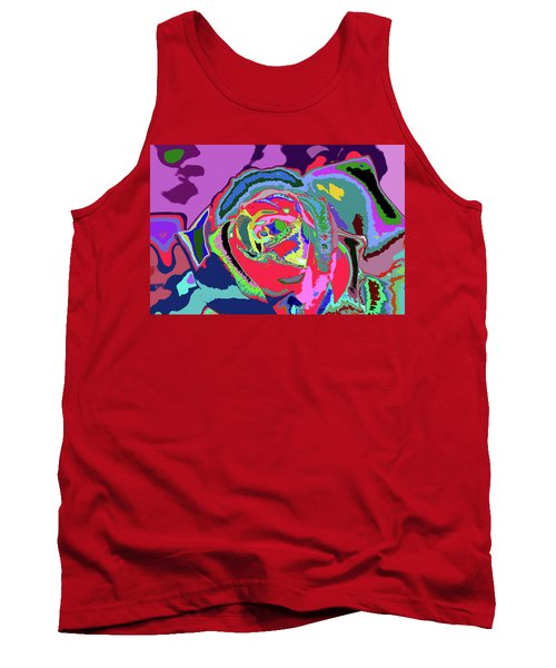 Fragrance Of Color  Tank Top