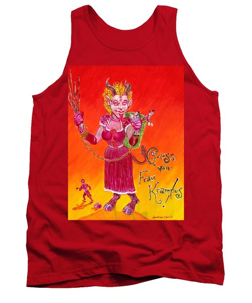 Frau Krampus Tank Top