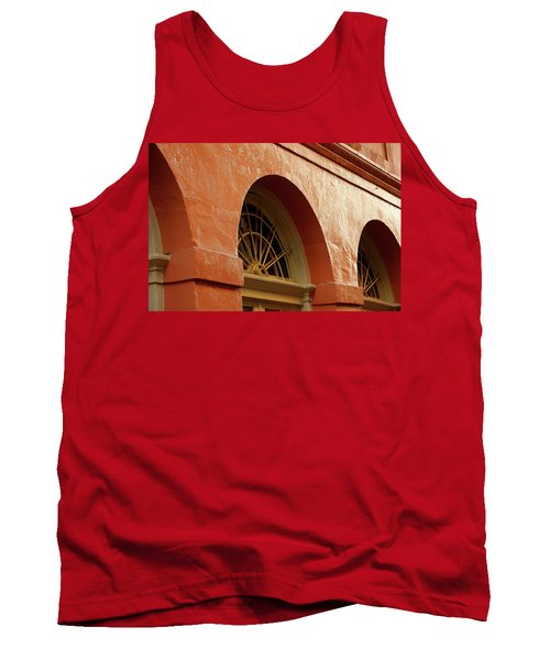 Tank Top featuring the photograph French Quarter Arches by KG Thienemann