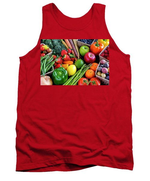 Fresh From The Farm Tank Top by Teri Virbickis