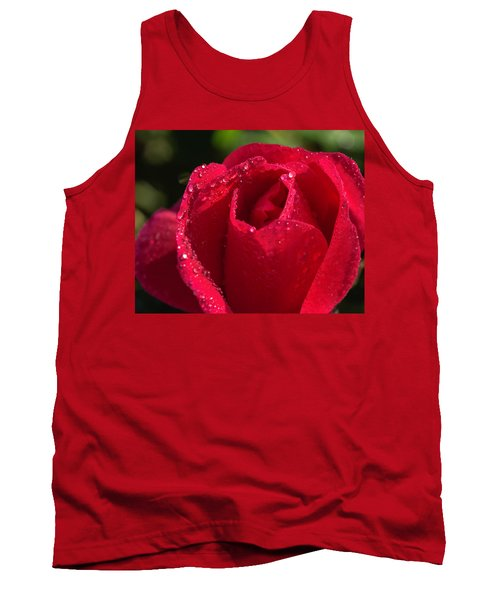 Fresh Rose Tank Top