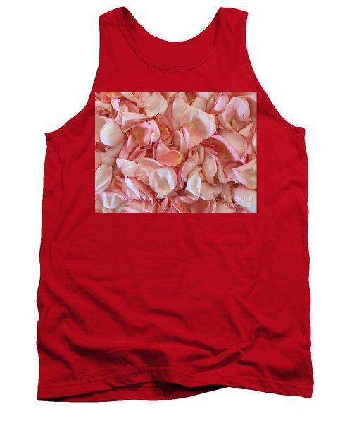Fresh Rose Petals Tank Top