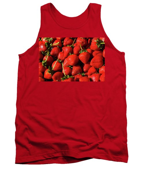 Fresh Strawberries Tank Top