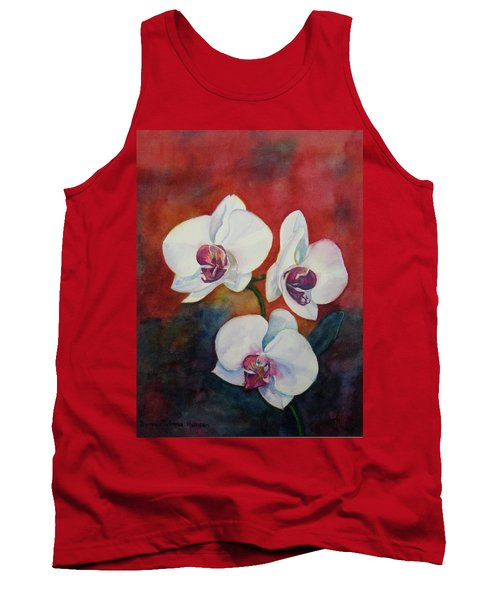 Tank Top featuring the painting Friends by Anna Ruzsan