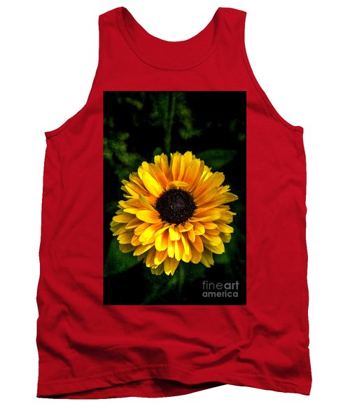 Tank Top featuring the photograph Frilly Rudi by Judy Wolinsky