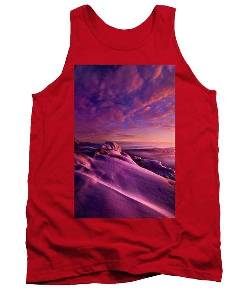 Tank Top featuring the photograph From Inside The Heart Of Each by Phil Koch
