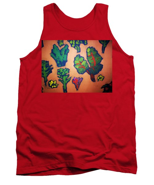Tank Top featuring the painting From The Earth 2 by Winsome Gunning