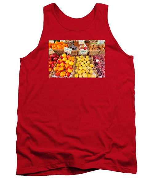 Fruits Tank Top by Marwan Khoury