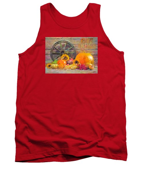 Tank Top featuring the painting Fruits Of Thanks by Wayne Pascall