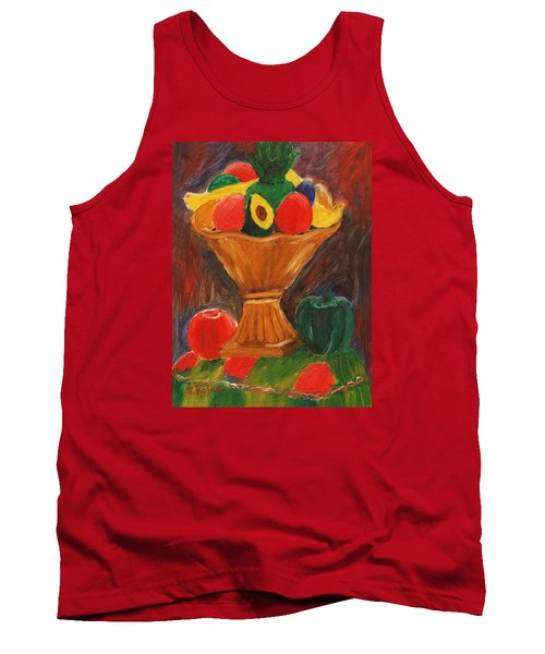 Fruits Still Life Tank Top