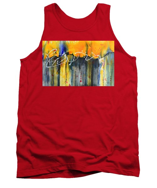 Fueled By The Wind Tank Top by Nancy Jolley