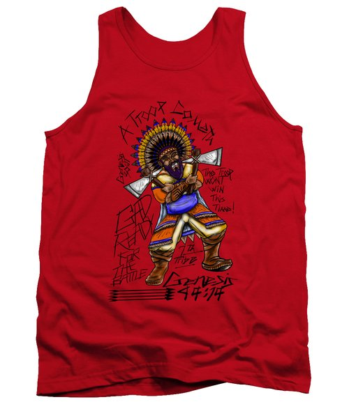 Gad Ready For The Battle Tank Top