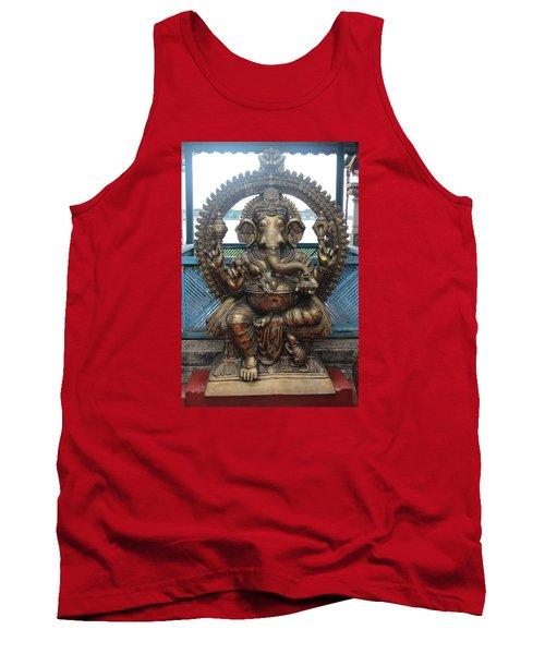 Ganapati Bronze Statue, Fort Kochi Tank Top
