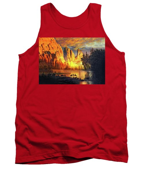 Garden Of The Gods Majesty At Sunset 2 Tank Top by John Hoffman