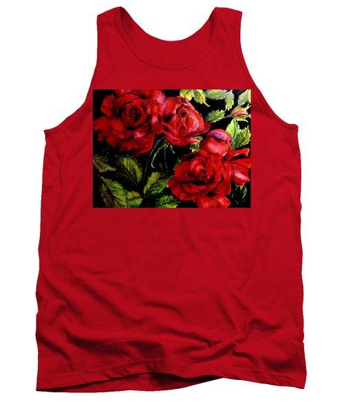 Garden Roses Tank Top