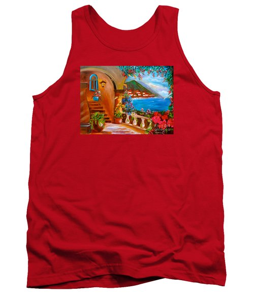 Garden Veranda 1 Tank Top by Jenny Lee
