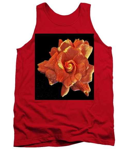 Gardenia For Madam Pele Tank Top