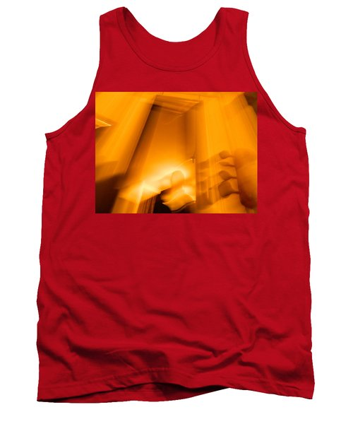 Tank Top featuring the photograph Gate Of The Golden Bass by Christophe Ennis