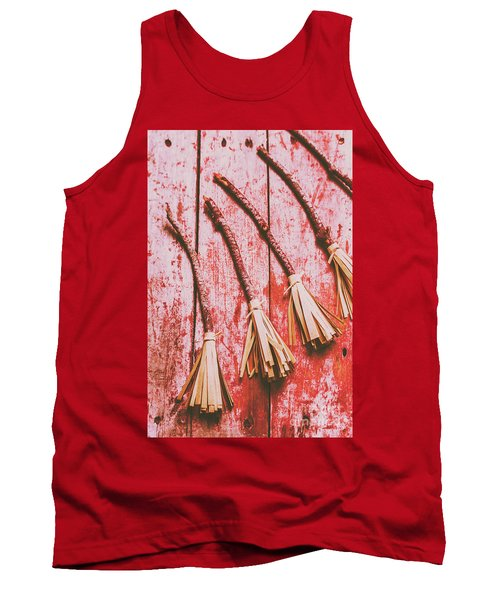 Gathering Of Evil Witches Still Life Tank Top