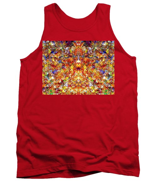 Gathering Of The Leaf Gods Tank Top