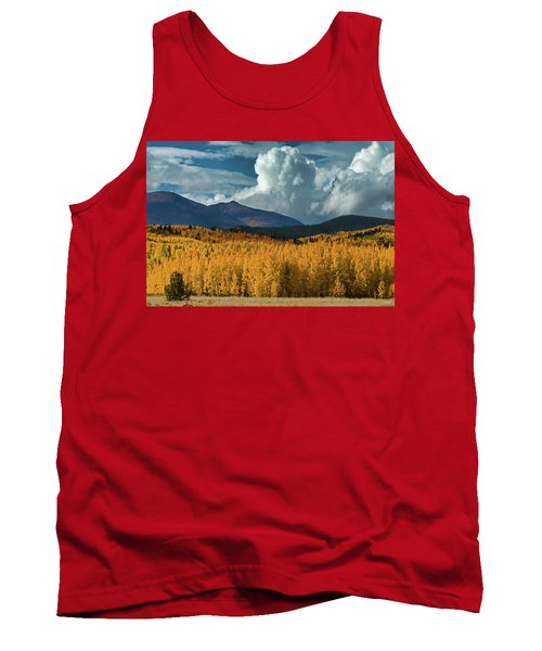 Gathering Storm - Park County Co Tank Top by Dana Sohr