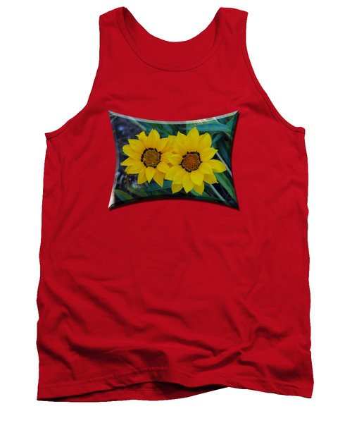 Gazania Rigens - Treasure Flower T-shirt Tank Top
