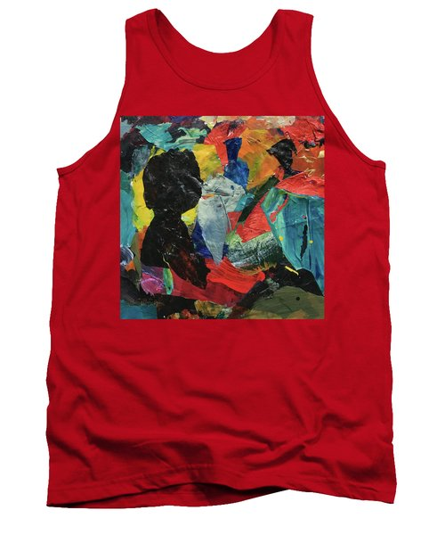 Tank Top featuring the painting Generations by Mary Sullivan