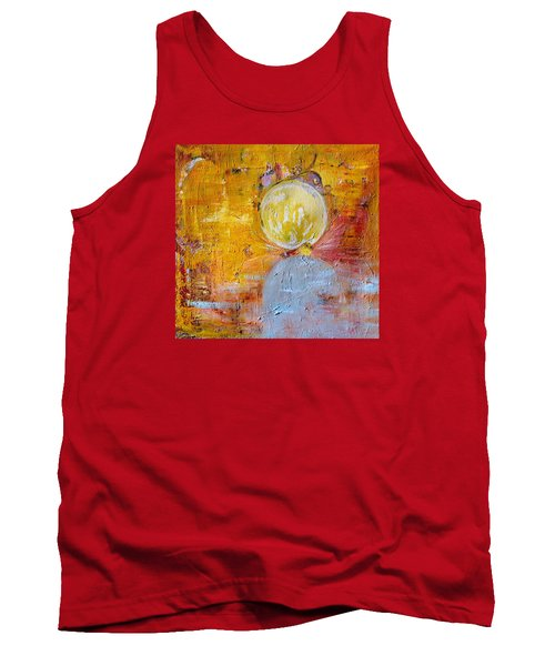 Tank Top featuring the painting Genesis by Evelina Popilian