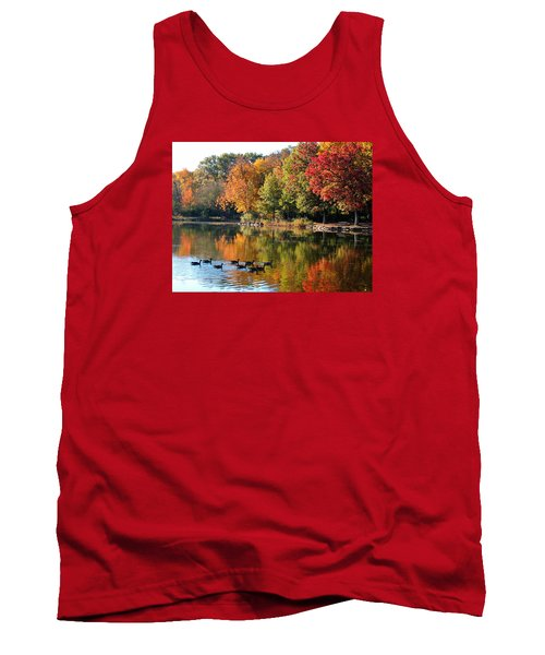 Gentle Reflections Tank Top by Teresa Schomig