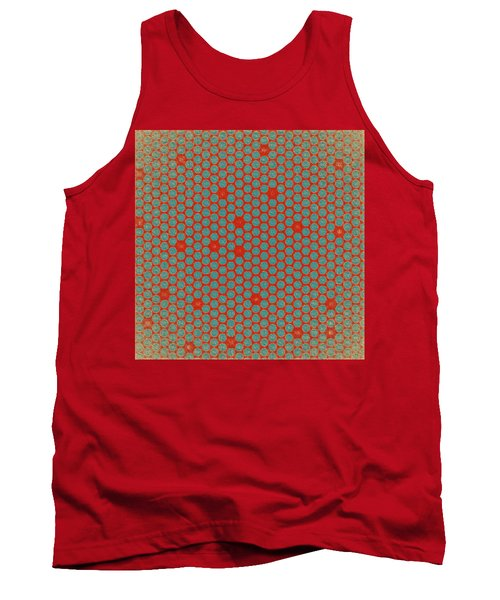 Tank Top featuring the digital art Geometric 2 by Bonnie Bruno