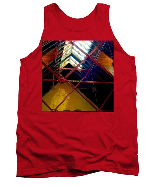 Geometric And Suns  Tank Top
