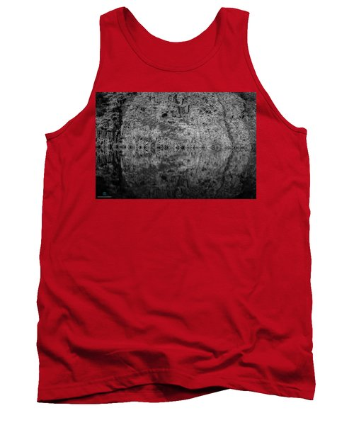 Geometries On A Mountain Lake Tank Top