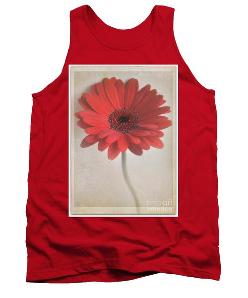 Tank Top featuring the photograph Gerbera Daisy by Lyn Randle