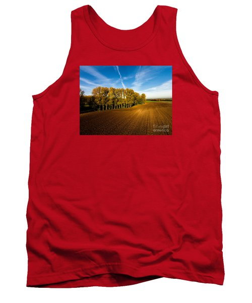 Fields From Above Tank Top