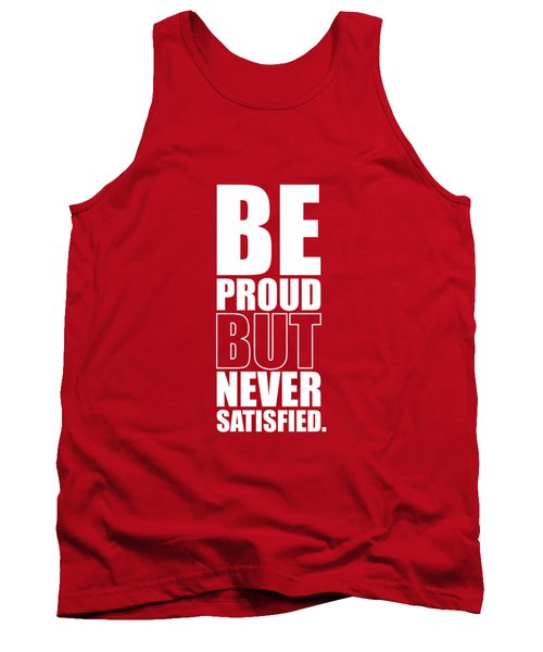Getting Stronger Each Day Gym Quotes Poster Tank Top
