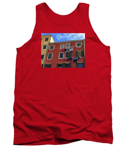 Tank Top featuring the photograph Getting To Know You by Lynda Lehmann
